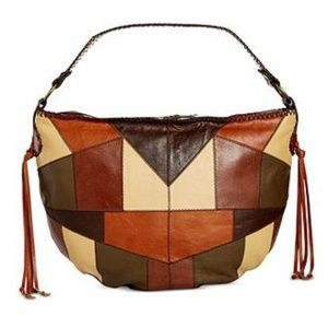 NEW PATRICIA NASH Vincenzo Hobo Purse Leather